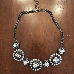 Jcrew diamond pendant necklace